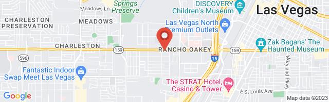 Google map image of 2701 W Charleston Blvd Las Vegas, NV 89102